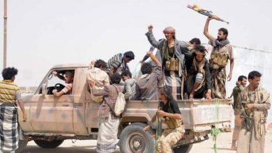 صورة مليشيا الحوثي تعدم 3 جنود بعد اختطافهم من دَمت