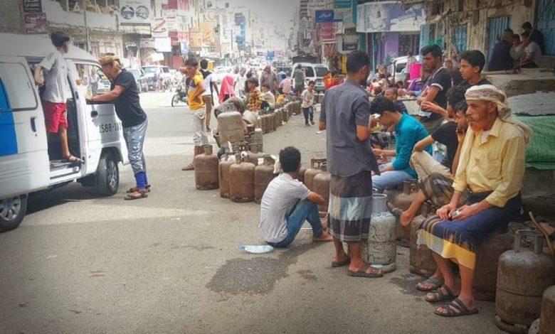صورة مافيا الغاز تخنق تعز بقبضة العسكر
