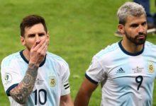 صورة أغويرو يكشف سبب رفضه لقميص ميسي رقم (10) في برشلونة