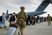 """صورة عاجل: أمريكا تعلن انتهاء  إجلاء عناصرها من أفغانستان وطالبان تحتفل في كابل بإطلاق نار كثيف """"فيديو"""""""