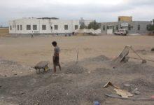 """صورة إنجاز 90% من مركز الغسيل الكلوي بالخوخة على نفقة طارق صالح """"صور"""""""