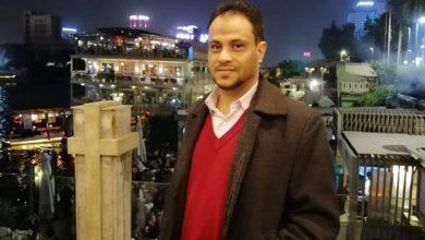 صورة دعوة للمشاركة في مراسيم تشييع ودفن الصحفي اليمني الراحل إبراهيم مجاهد غداً في القاهرة