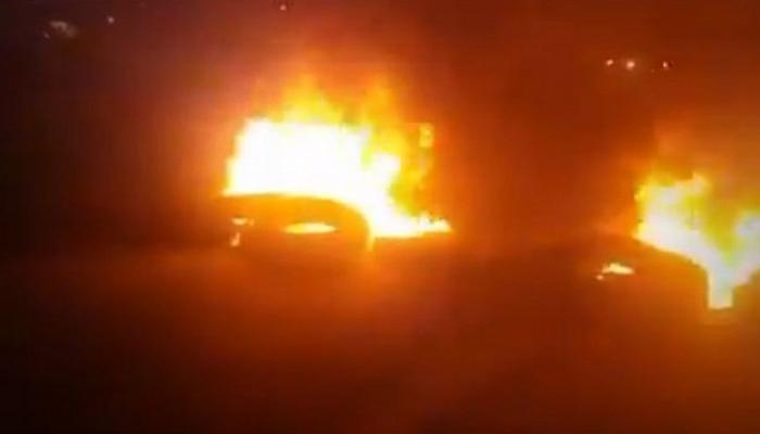 صورة صعدة: غارات جوية لمقاتلات التحالف تستهدف تعزيزات للمليشيات في المحافظة