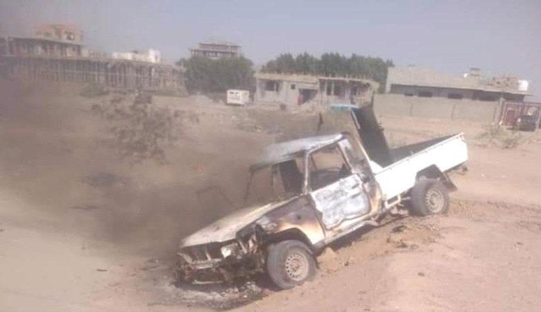 """تفاصيل المواجهات العنيفة التي اندلعت اليوم في عدن والتي تخللها إحراق طقم """"صور"""""""