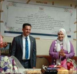 """صورة ولادة """"أحرف النسرين """" في المركز الثقافي اليمني بالقاهرة"""