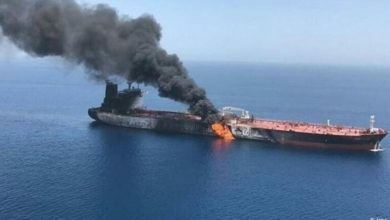 صورة عاجل: تفاصيل استهداف سفينة إيرانية تابعة للحرس الثوري في البحر الأحمر