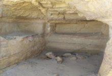 صورة اكتشاف مقبرة أثرية في حضرموت عمرها 2500 عام