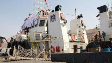 صورة الإمارات تدعم قدرات ميناء المكلا بقاطرة بحرية جديدة