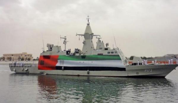 """صورة وزارة النقل تكذب الإخوان: سفينة """"تكريم"""" أفرغت سيارات مدنية في ميناء سقطرى"""