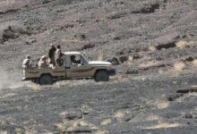صورة كمين محكم للجيش يسفر عن قتلى وجرحى من المليشيا الحوثية في جبهة ناطع