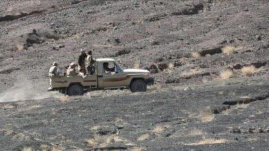 صورة عملية نوعية للجيش كبدت مليشيا الحوثي خسائر كبيرة في البيضاء