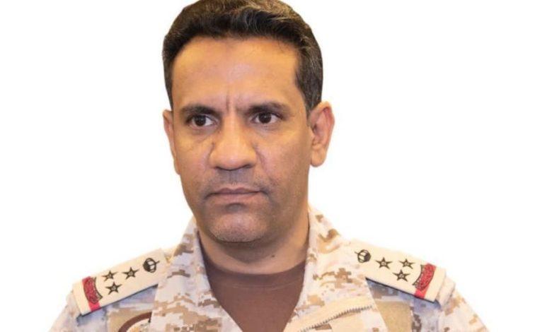صورة التحالف يعلن تدمير 4 طائرات حوثية مفخخة وصاروخين بالستيين اطلتهم المليشيات باتجاه السعودية