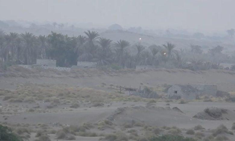 صورة الحديدة : المليشيا تستهدف حيس بالأسلحة الثقيلة