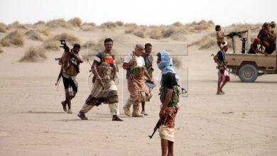 صورة الحديدة : مصرع قائد عسكري حوثي رفيع مع مرافقيه في حيس