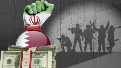 صورة استشراء منظومة الفساد القطرية