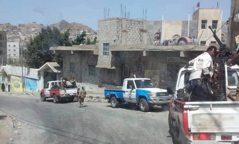 صورة قتيل وجرحى في اشتباكات بلحج