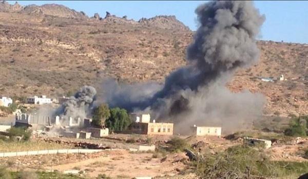 صورة الحوثيون يقصفون حيفان بقذائف الهاون