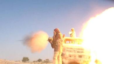 صورة الجوف.. الجيش يكسر هجوم حوثي بالجدافر