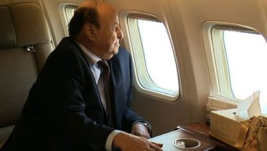 صورة محنة الرئيس هادي