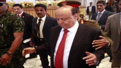 صورة سياسي يمني: بقاء هادي رئيسا يعني تمدد الحوثي واغراق اليمن واستمرار الصواريخ على السعودية