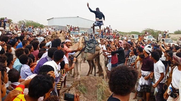 """صورة """"الزرانيق الشعبية"""".. فرقة لحفظ التراث وتعزيز الهوية في اليمن """"ًصور"""""""