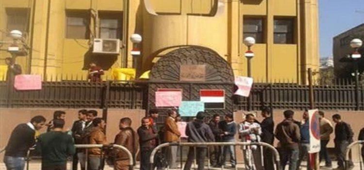 صورة الجرحى بالقاهرة يهددون بالتصعيد ضد الحكومة.. (الأسباب)