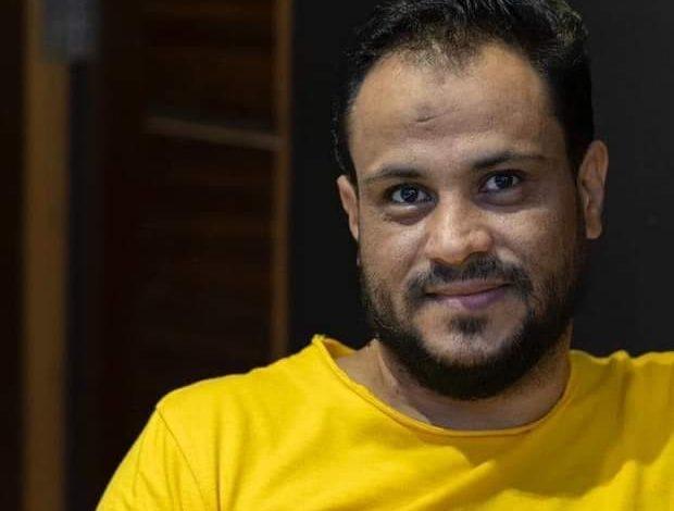 صورة السيرة الذاتية للصحفي اليمني الراحل إبراهيم مجاهد