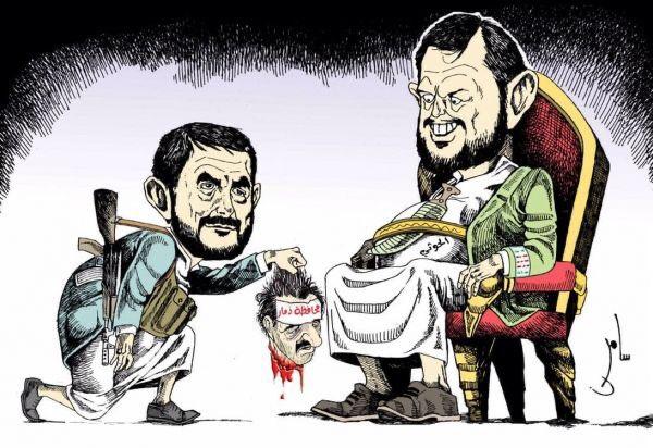 صورة الصراع بين قيادات الحوثي