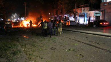 صورة حركة الشباب تتبني هجوم انتحاري على فندق في مقديشو