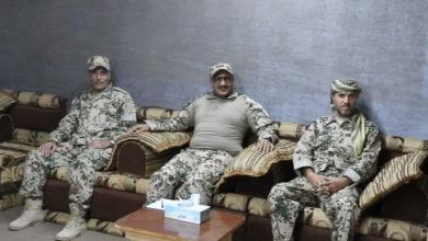 صورة العميد طارق صالح يوجه قواته برفع الجاهزية ويؤكد: خطر الإرهاب الحوثي لم يعد محصورا على اليمن بل يهدد أمن واستقرار المنطقة والعالم