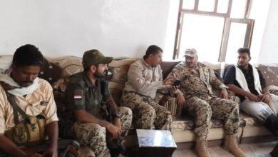 صورة العميد طارق صالح يزور قطاع لواء باب المندب ويطلع على جاهزية القوات