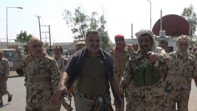 صورة مشائخ ووجهاء الحُجَرِيِّة يدينون اختطاف العميد قائد الورد ويصدرون بيان عاجل