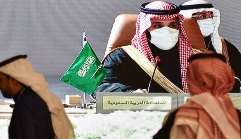 ولي العهد السعودي الامير محمد بن سلمان في قمة العلا