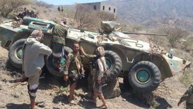 صورة الجيش يشن هجوما عنيفا على مواقع مليشيا الحوثي غرب تعز