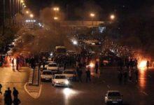 صورة انتفاضة عارمة ضد الحرس الثوري والاحتجاجات تجتاح 8 مدن إيرانية حتى الان