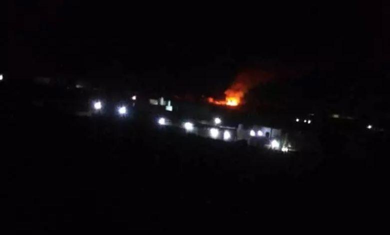 """صورة مليشيا الحوثي تستهدف مدينة مأرب بصاروخ باليستي والانفجارات تدوي """"الرابع خلال 72ساعة"""""""