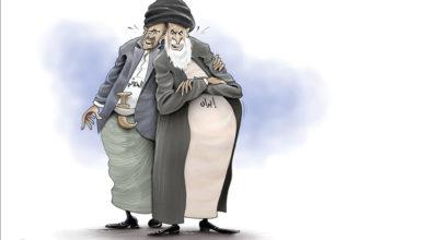 صورة ما تفعله إيران وما فعله اليمنيون