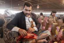 """صورة """"القات"""" يجلب راحة كبيرة وتجارة عظيمة لليمنيين الذين أنهكتهم الحرب"""