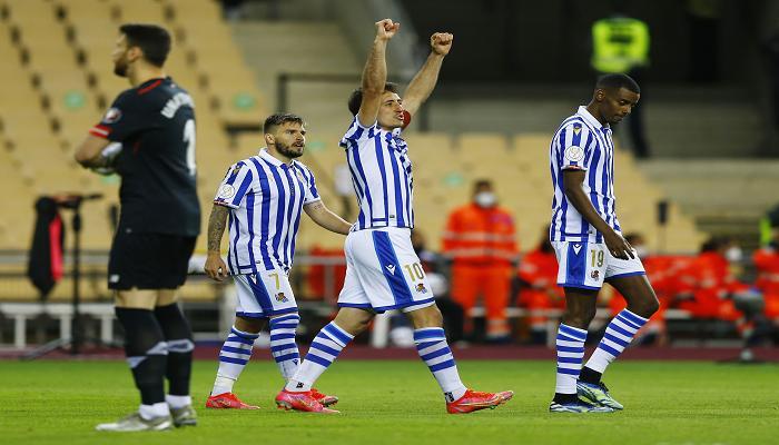 صورة نهائي كأس إسبانيا: ريال سوسييداد يحرز اللقب بفوزه على أتلتيك بلباو 1-صفر