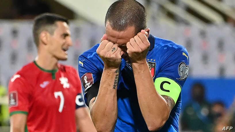 بلغاريا تفرمل إيطاليا والسويد تهزم إسبانيا في تصفيات المونديال