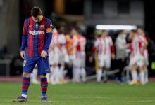 """صورة بيلباو يقلب الطاولة على برشلونة ويتوج بكأس السوبر الإسباني للمرة الثالثة في تاريخه وطرد ميسي """"فيديو"""""""