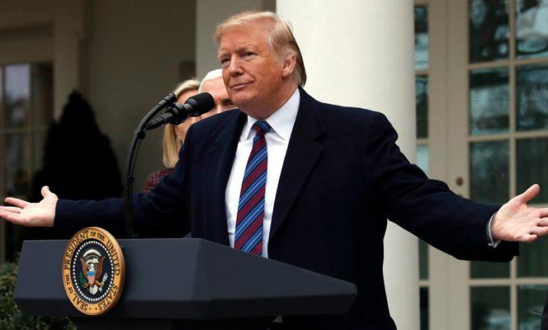 ماذا قال الرئيس الأمريكي السابق دونالد ترامب في أول تصريح له على قرار تبرئته؟