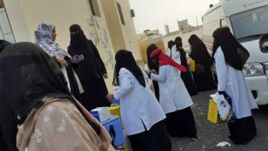 صورة انطلاق فعاليات التحصين ضد شلل الأطفال في 134 مديرية