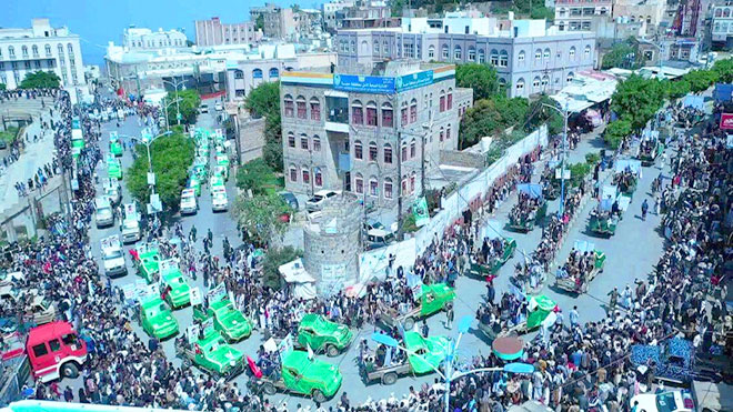 تشيع قتلى الحوثيين في مارب