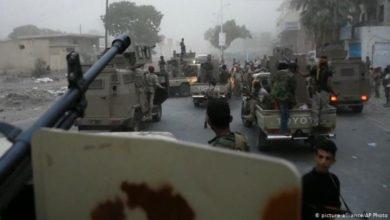 صورة الاخوان في مهمة تخفيف الضغط عن الحوثي