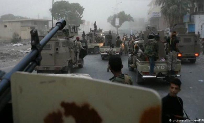 صورة أبين عودة المعارك العنيفة بعد مغادرة وفشل لجنة التهدئة السعودية (تفاصيل)