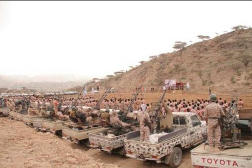 صورة تعز ترفد مأرب باكثر من 5000 ألف مقاتل لدعم الجيش الوطني