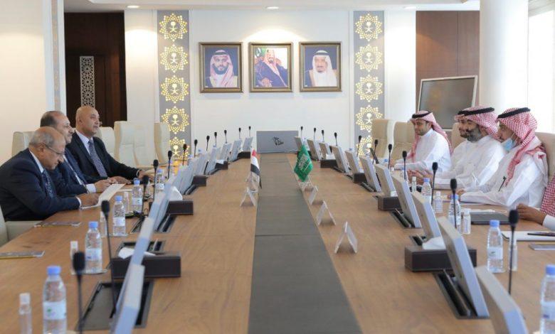 صورة تفاهمات يمنية سعودية لتفعيل وتطوير قطاع الاتصالات في اليمن