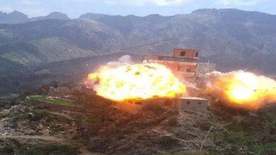 صورة تكريسا لنهجها التدميري.. تفجير منازل اليمنيين نهج الحوثيين المفضل
