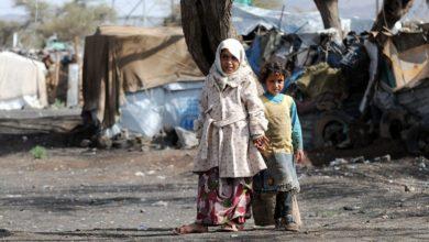 """صورة 4 ملايين يمني أجبروا على الهروب من العنف مرات عديدة و""""الهجرة الدولية"""" تكشف عن وضعهم الحقيقي"""